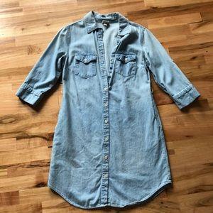 Merona Denim Shirt Dress